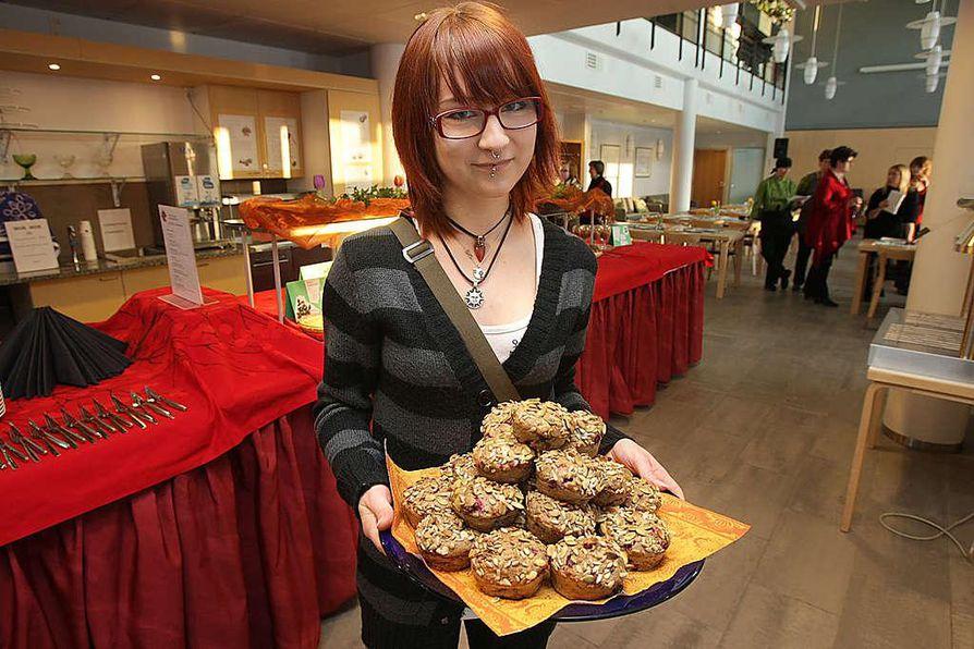 Anni Salmisen aamiaismuffinit olivat raadin mielestä paras tuote. Perusteluna oli alueellisten tuotteiden käyttö ja hyvä maku.
