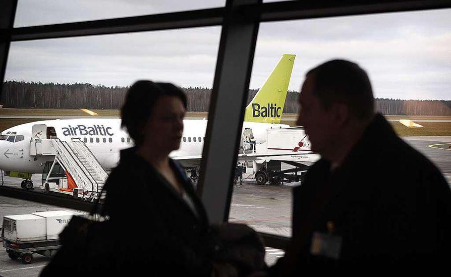 AirBaltic ryhtyy lentämään Oulusta Tallinnaan.