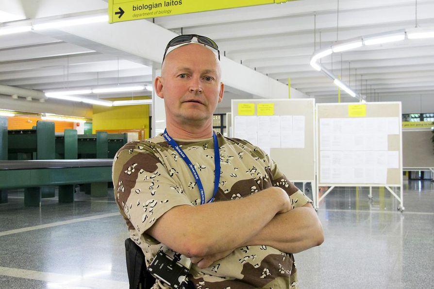 Luottamushenkilö Lauri Louhivirta sanoo, että Broadcomin lakkauttaminen on iso isku.