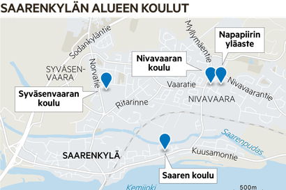 P??t?s: Nivavaaran-Napapiirin yhten?iskoulun suunnittelua jatketaan Rovaniemell? –?kaupunki sai haluamansa selvitykset