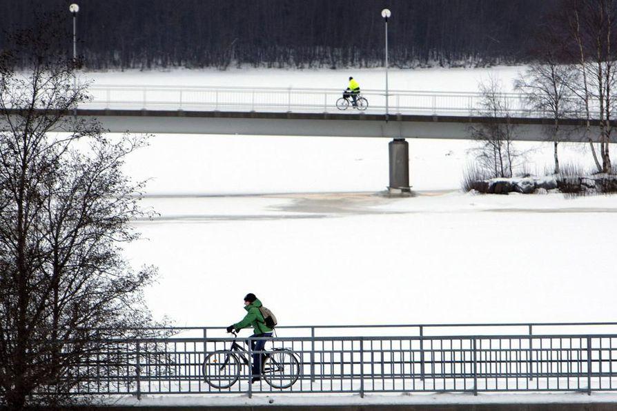 Oulu on maailman paras talvipyöräilykaupunki.