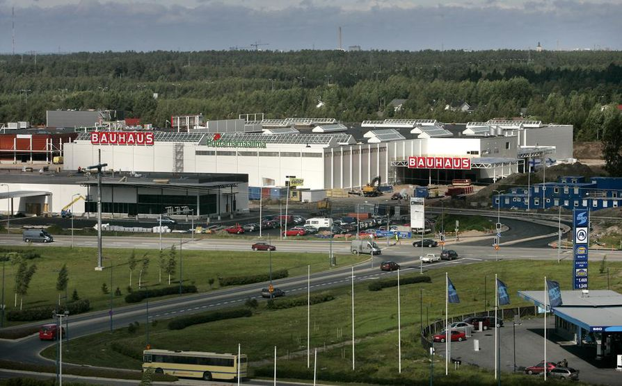 Bauhausilla on tavaratalo myös Oulussa.