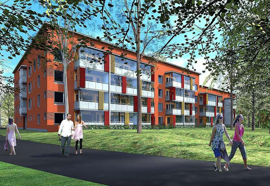 Linnanmaan uusi asuinalue sijaitsee rauhallisessa ja luonnonläheisesä ympäristössä.