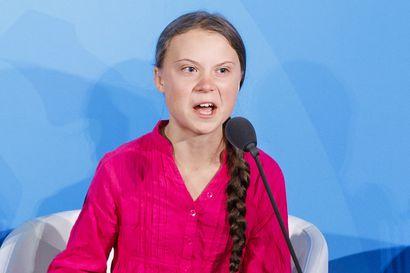 "N?in Greta Thunberg puhui YK:ssa – ""Minun ei pit?isi seist? t??ll?"""