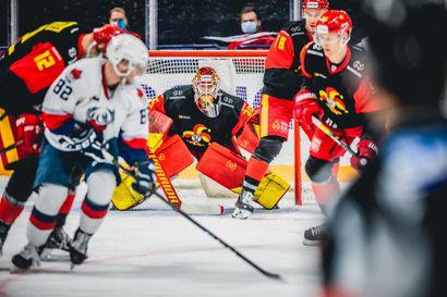 """Varamiehen varamies valokeilassa – Ahmoista ja Kärpistä oppinsa ammentanut Samuel Jukuri, 24, ponnisti tuntemattomuudesta Jokerien tähtivahtien tuuraajaksi KHL:ään: """"Sain viimein näyttää, mitä osaan"""""""