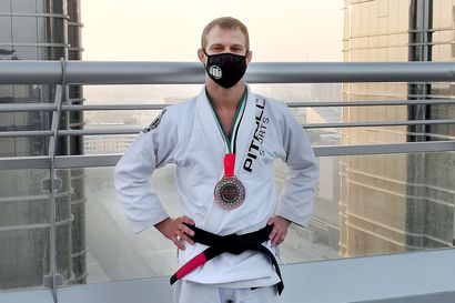 Marko Oikarainen otteli pronssia Abu Dhabissa