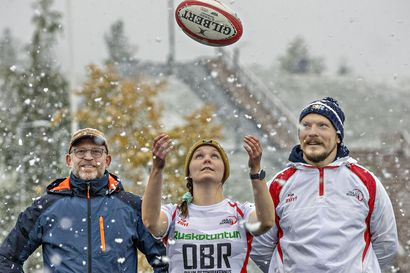 """Jopa Oulun leveysasteilla on vireää rugbytoimintaa – """"Rugbyssa luodaan läheinen side joukkuekavereihin"""""""