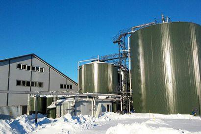 Rovaniemen, Ranuan ja Pellon biojätteistä valmistetaan biokaasua Oulussa