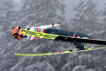 Lahden mäkisankari Kraft voitti vaikeudet ja palasi maailmanmestariksi