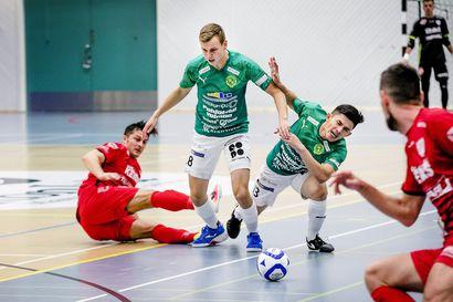 Neljä ToPV:n pelaajaa juhli futsalin Pohjoismaiden mestaruutta