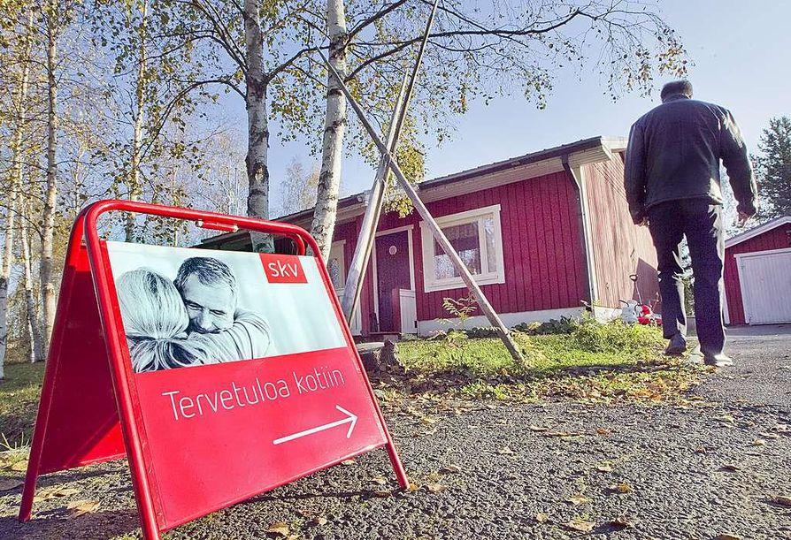 Oulussa välityshinnat putosivat muuta maata enemmän.