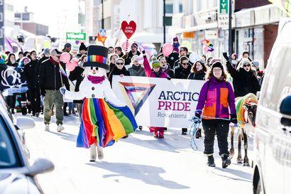 Arctic Pride järjestetään välivuoden jälkeen maaliskuussa – Teemana on koronaturvallisuus ja 30-vuotias Rovaniemen Seta