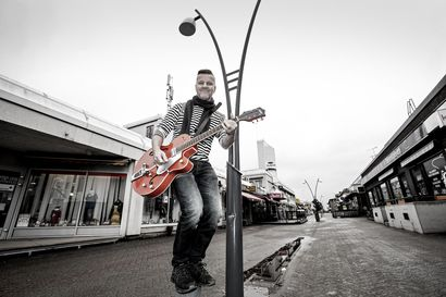 Kitaristista tuli Vantaalla myös poliitikko