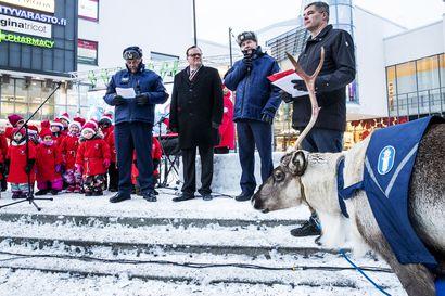 Liikenteen joulurauha julistetaan virtuaalisesti maanantaina Rovaniemeltä