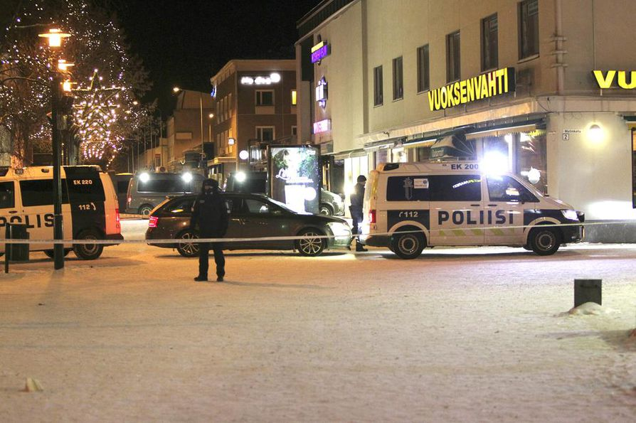 Kolme naista sai surmansa Imatran keskustassa myöhään lauantai-iltana.
