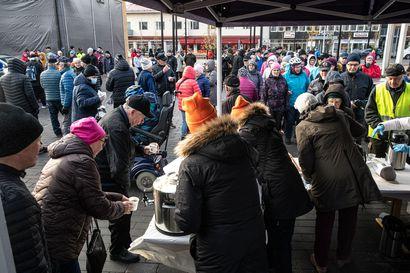 Katso kuvat uudistetun Kitkantien avajaistilaisuudesta, joka järjestettiin Kuusamossa maanantaina kello 12 alkaen – olitko sinäkin tai sinun tuttujasi paikalla?