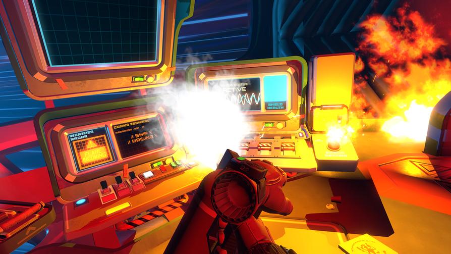 Jaakko Kemppaisen suunnittelema Failspace on ongelmanratkaisuun perustuva VR-peli, jossa voi olla useita pelaajia.