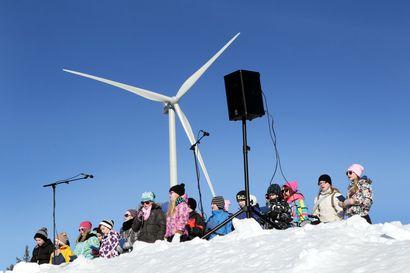 Yli-Olhavaan nousee 50 tuulivoimalaa, joiden pyyhkäisykorkeus yltää 300 metriin – tuulivoimarakentaminen kääntyy Iissä loppusuoralle