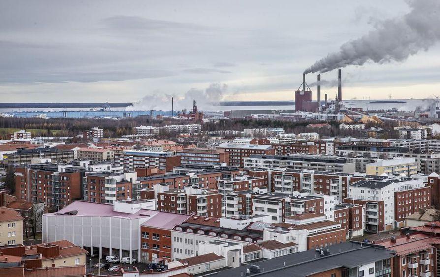 Ouluun rakennettavien kerrostaloasuntojen keskipinta-ala on pienentynyt viime vuosien aikana.