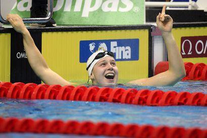 Ida Hulkko nappasi toisen voiton uinnin maailmancupissa Budapestissa
