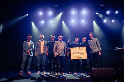 Oulu All Stars Charity Golf tuotti 77850 euron ennätyspotin hyväntekeväisyyteen – Hope kiitti tuoreeltaan sosiaalisessa mediassa