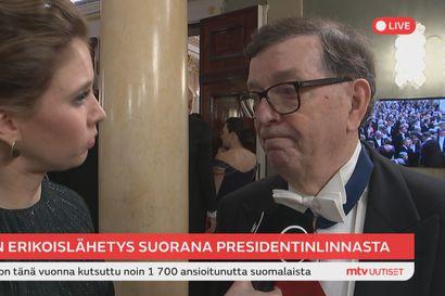 """Paavo Väyrynen kertoi Linnassa raskaista ajoista, joihin näkyy nyt valoa: """"Olen ollut omaishoitaja"""""""