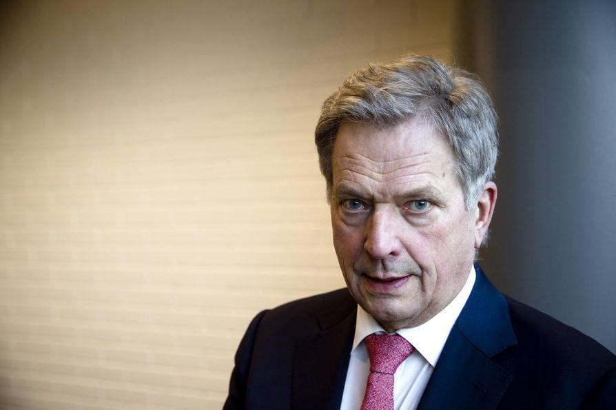 Ennen presidentiksi valintaansa etupäässä talousmiehenä tunnettu Sauli Niinistö on presidenttinä profiloitunut nimenomaan ulkopolitiikan johtajana.