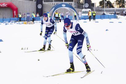 Visan Niko Anttola jaksoi PM-sprintissä välieriin - OH:n Timi Heiskanen yhdistetyssä viides