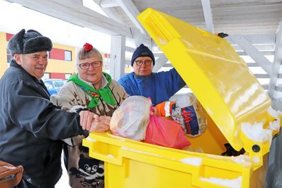 """Ilmaiseksi toimitettavat keltaiset muovinkeräysastiat yleistyvät Kurenalla – """"Mehän lähdettiin tähän heti mukaan!"""""""