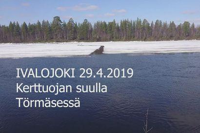 Ivalojoki ei nyt rymistellyt