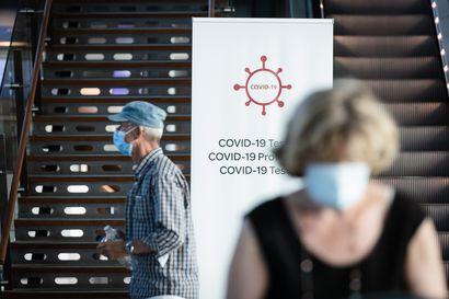 Helsinki-Vantaan vapaaehtoisista koronatesteistä on tullut kymmenkunta positiivista tulosta – Tänään massatestataan Frankfurtin ja Malagan lennot