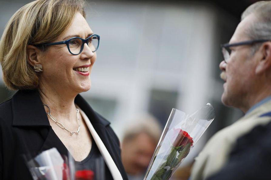 Tuula Haatainen ja Nils Torvalds ovat ehdokkaina tammikuussa käytävissä presidentinvaaleissa.