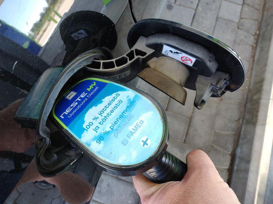 Kotimaisen uusiutuvan dieselin elinkaaripäästöt ovat jopa 90 prosenttia fossiilista dieseliä alhaisemmat.