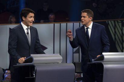 Kanadassa alkamassa juuri jännittävä äänestyspäivä: Justin Trudeau joutuu tiukoille parlamenttivaaleissa