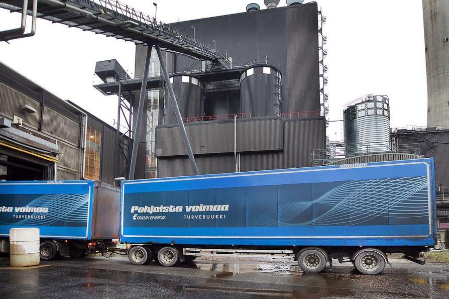 Oulun Energia aikoo panostaa jatkossa uusiutuvaan energiaan. Arkistokuva.