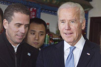 Joe Bidenin pojan Hunter Bidenin veroasiat osavaltion oikeusministeriön tutkintaan