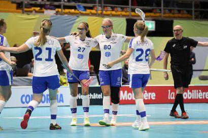 Suomi järjesti maalikarkelot salibandyn MM-avauksessa – Puola kaatui luvuin 14-3