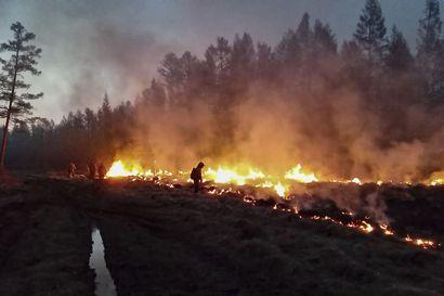 """Siperia on jälleen tulessa, eikä sammuttajia ole tarpeeksi – """"Me tarvitsemme lisää väkeä"""""""