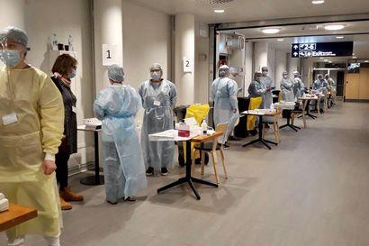Levin maailmancupiin saapuville kilpailijoille suoritettiin pikatestaus Kittilän lentokentällä – Kaikki testitulokset negatiivisia