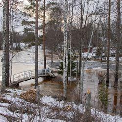 Tulvat tulevat, ennustaa Anssi Eloranta mielipiteessään