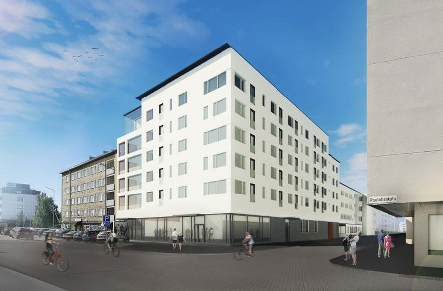 Asunto Oy Aseman Tähti on parhaillaan ennakkomarkkinoitavana.