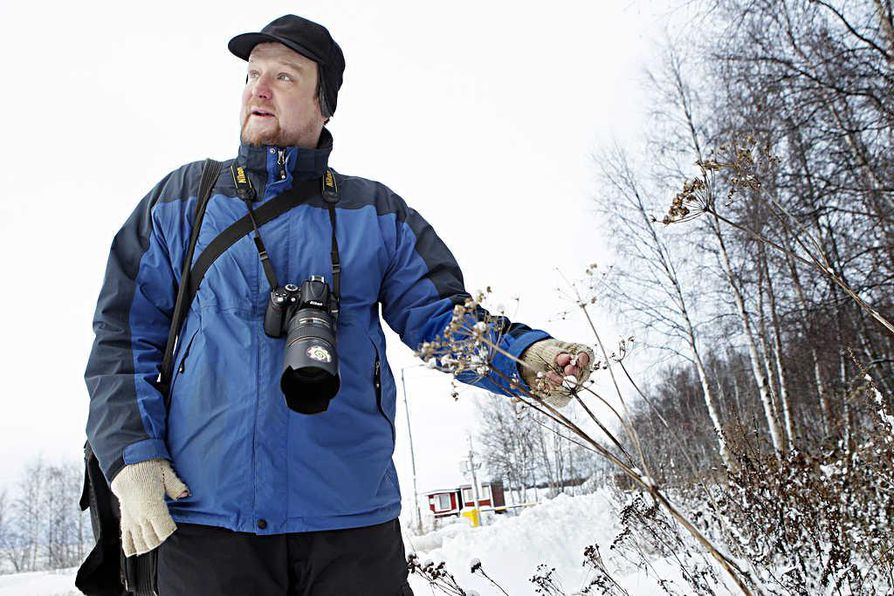 Dosentti Ari-Pekka Huhta on löytänyt Taskilan joutomaalta kymmeniä lajeja talventörröttäjiä. Joutomaat ovatkin yhdessä merenrannan kanssa hyviä törröttäjäkohteita.