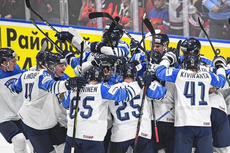 Viime vuonna jääkiekon MM-kisat pelattiin Slovakiassa. Suomen turnaus päättyi sensaatiomaiseen kultaan.