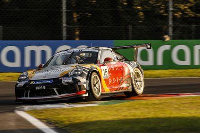 Jukka Honkavuorelle jäi kaudesta hyvä fiilis – rovaniemeläinen ohitti Monzan päätöskisassa seitsemän kuskia ja oli lopulta 14.