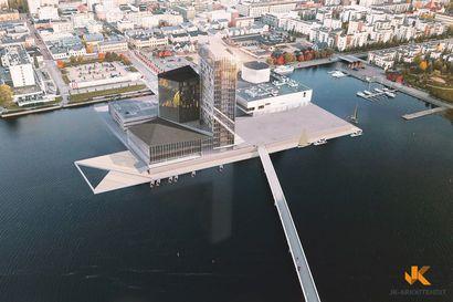 Tavoite on tehdä Oulun uusi ykköspaikka, sanoo tornihotellia toteuttavan yhtiön johtaja – Hotellioperaattori on jo mukana, tornitalo toteutunee visioita hillitympänä kerrosten ja korkeuden osalta