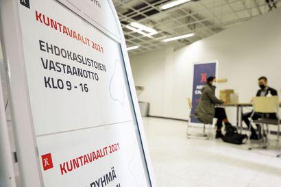 Lapissa valtuustopaikoista taistelee yli 1500 ehdokasta – ehdokaslistojen jättöaika päättyi, vaalien siirto aiheutti epätietoisuutta