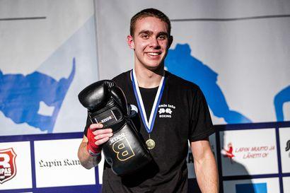 Lasse Kourula tuuletteli uransa ensimmäistä Suomen mestaruutta