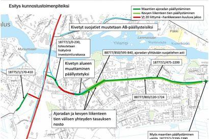 Varsitie Pudasjärven kaupungin kaduksi – Ely-keskus päällystää
