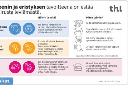 """Oulunkaaren terveyspalveluiden palvelupäällikkö: """"Laajat altistumisketjut muistuttavat aina siitä, kuinka helposti koronavirus leviää erilaisissa tapaamisissa"""" – Tällaiset ovat karanteeniohjeet"""