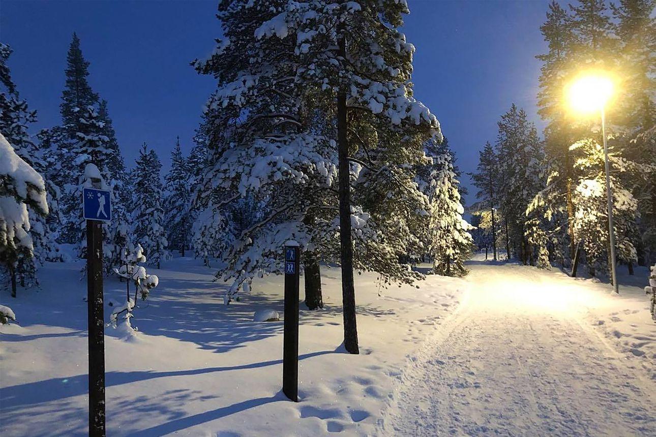 Retkeilijä tuupertui hypotermiaan keskiviikkona Ounasvaaralla – retkikaveri sai pelastettua miehen lämpimään ohikulkijan avulla